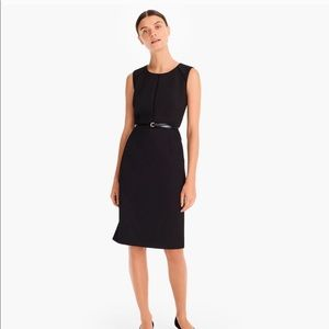J.Crew Black Portfolio Sheath Dress